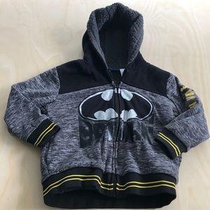 Batman Dark Knight Jacket Boys Size 5 Tall GUC